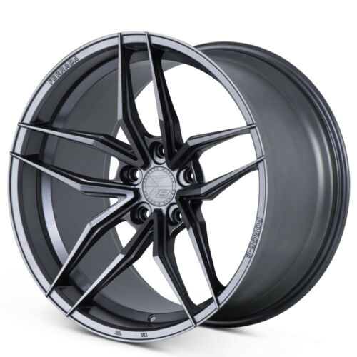 "20"" FERRADA F8FR5 GRAPHITE FORGED CONCAVE WHEELS RIMS FITS INFINITI Q60 COUPE"