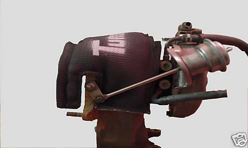 Fits 01-04.5 GMC Chev LB7 Duramax 6.6 3 LAYER GREAT FOR TOWING Black Turbo Sock