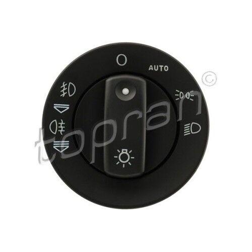 Topran principale interruttore della luce interruttore della luce fanali AUDI 3066374