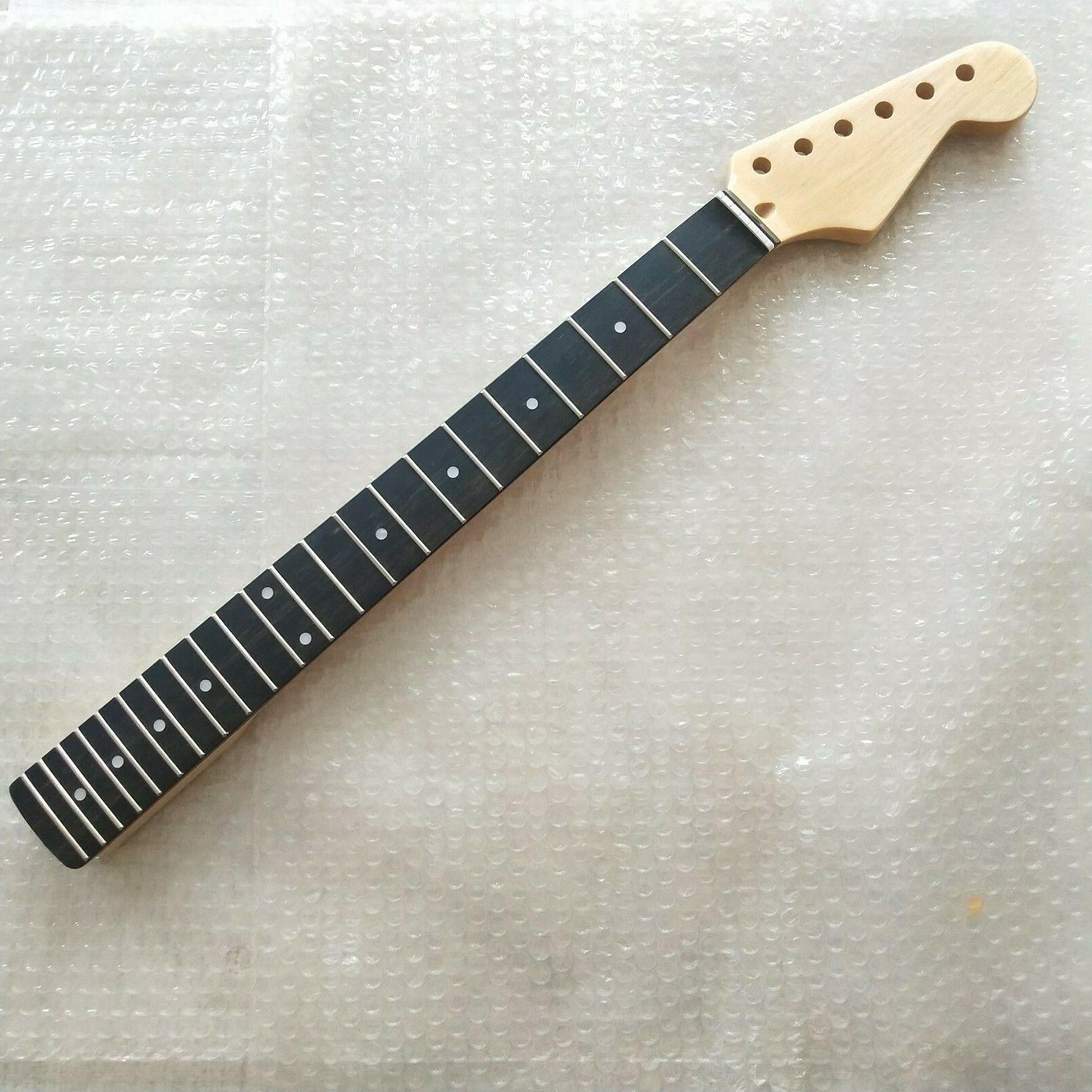 Maple ebony Fretboard E-Gitarre Teile Guitar Neck 22 Frets ersetzen