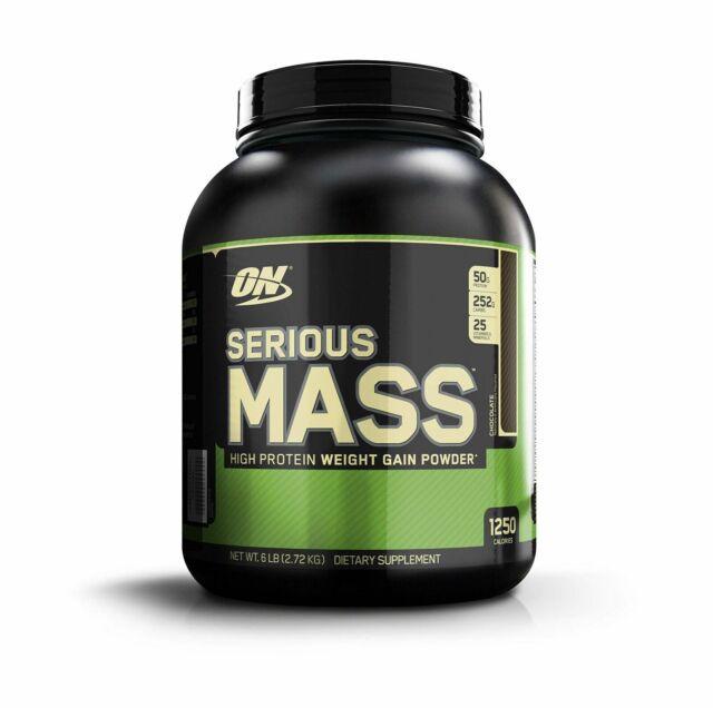 serious mass weight gainer protein powder chocolate