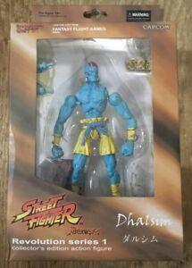 Figurine articulée Révolution Street Fighter de Sota Dibs, variante bleue!   2008