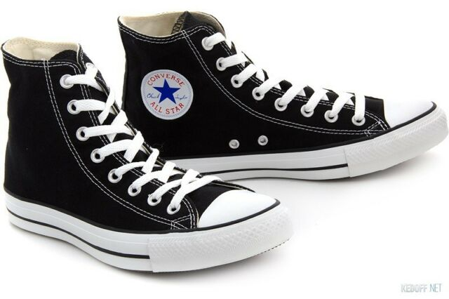Converse Uomo All Star Hi Formatori Nero 44.5