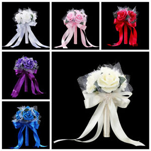 Romantic-Crystal-Flower-Rose-Bouquet-Wedding-Bride-Bridesmaid-Flower-Girl-Wand