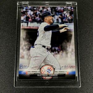 GLEYBER TORRES 2018 TOPPS ROOKIES #S-22 ROOKIE CARD RC NEW YORK YANKEES MLB