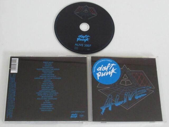 DAFT PUNK/ALIVE 2007(EMI VIRGIN 5099950984121) CD ALBUM