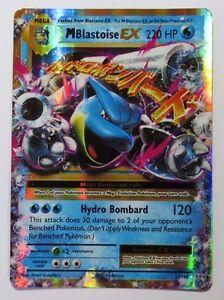 Mega Blastoise EX - 22/108 XY Evolutions - Ultra Rare Pokemon Card
