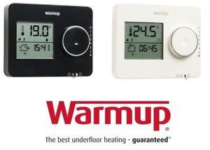 Warmup Tempo Thermostat-Piano Black