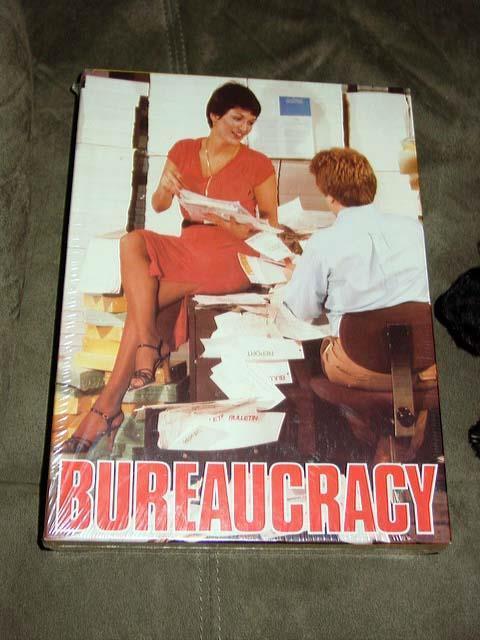 Avalon Hill 1981 - BUREAUCRACY the gioco of Civil Civil Civil Service (SEALED) Drain Swamp f80b66