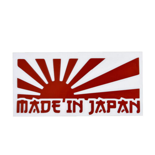 MADE IN JAPAN Sticker Decal Vinyl JDM Car Sticker Decal