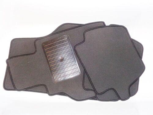 Tipico grigio velluto TAPPETINI tappeti AUTO CHRYSLER GRAND VOYAGER 1996-2016