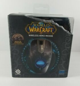 New-Sealed-SteelSeries-Blizzard-World-of-Warcraft-Wireless-MMO-Gaming-Mouse