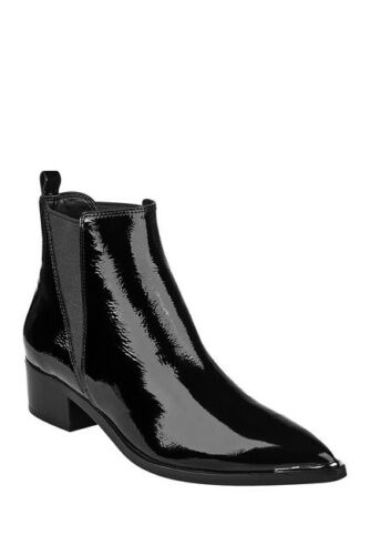 MARC FISHER Yale Black Patent Leather Pointed Toe