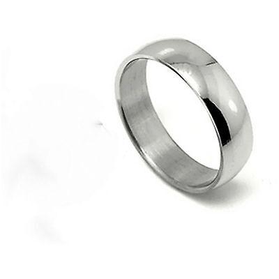 Classic 6mm titanium band ring multiple sizes