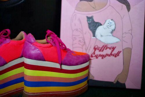 Jeffrey Campbell Rainbow Light-up Shoes