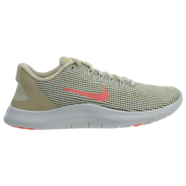 6891e757bb866 Nike Flex 2018 RN Summer Womens Ao2676-200 Lemon Wash Running Shoes Size 7