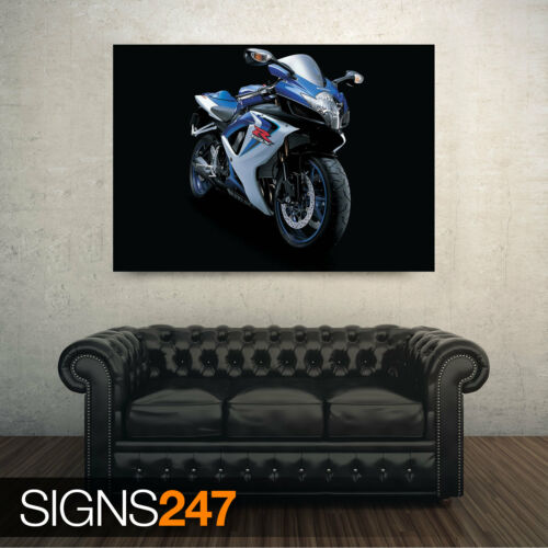 1676 SUZUKI R GSX BIKE Photo Poster Print Art * All Sizes Motorbike Poster
