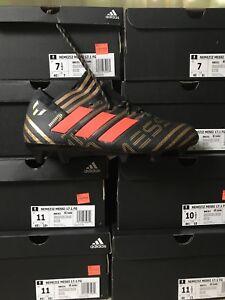Adidas-Nemeziz-Messi-17-1-FG-Size-7-5-Gold-Core-Black-Solar-Red-Soccer-BB6351