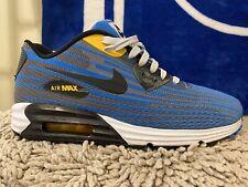 Nike Air Max Lunar 90 Waterproof Wr Mens Shoes Gray Orange