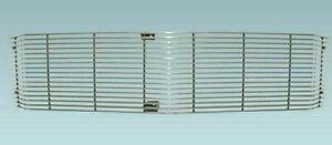 1964 Chevelle El Camino Grille Molding Upper Polished Aluminum Dynacorn