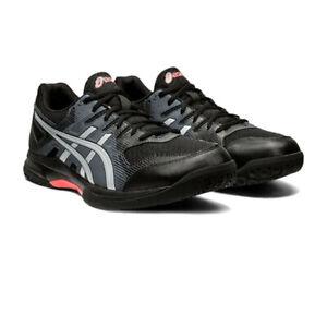 Asics Homme Gel-Rocket 9 Intérieur Cour Chaussures Noir Sport Squash Badminton