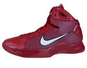 456f12023fda NEW NIKE HYPERDUNK 08 MENS 10 RETRO BASKETBALL GYM RED WHITE 820321 ...