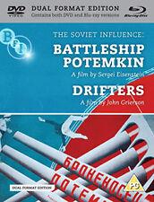 BATTLESHIP POTEMKIN / DRIFTERS - BLU-RAY - REGION B UK