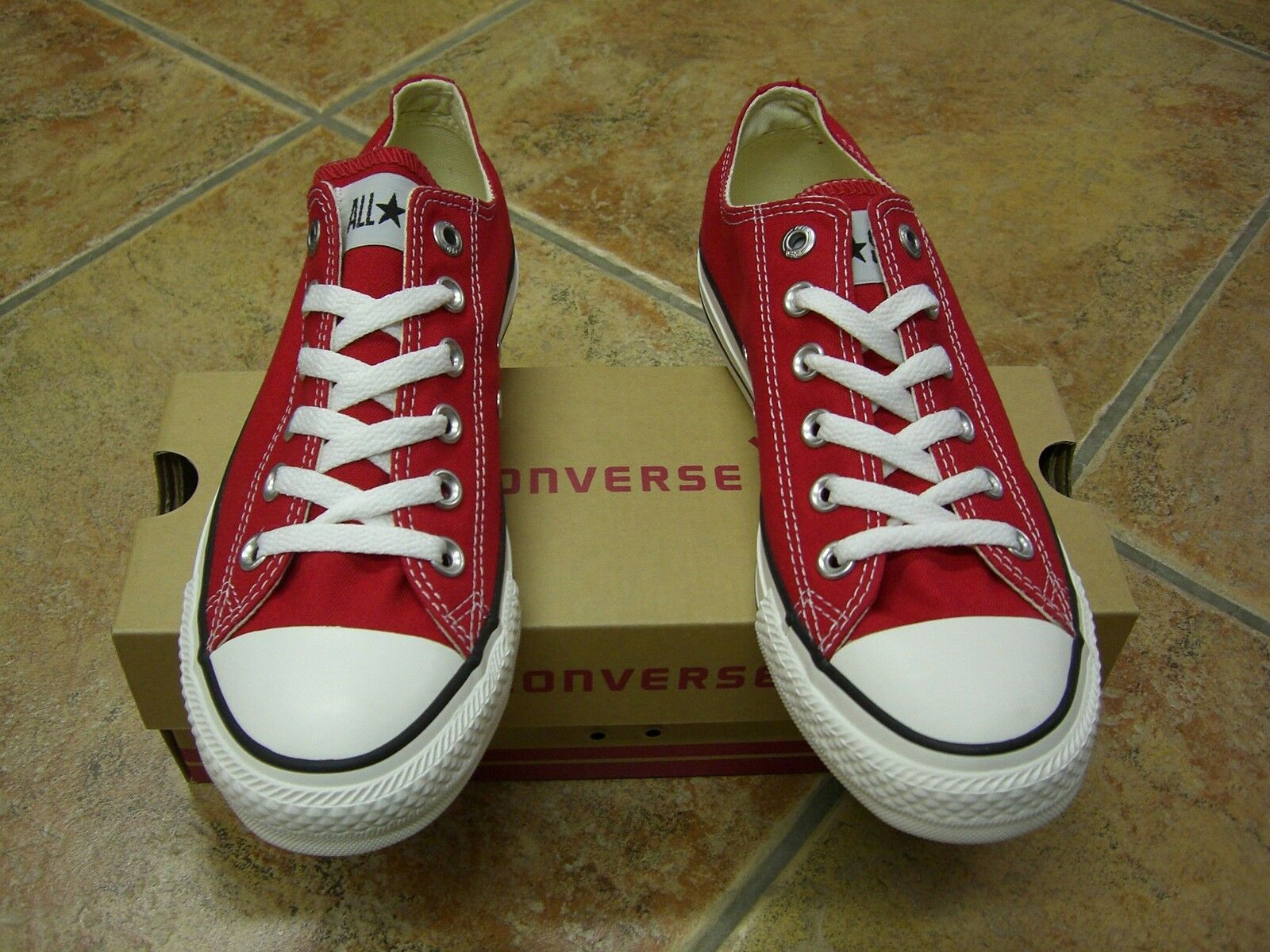 Converse Chucks All Star OX Größe 39 ROT Rot M9696C Neu Sneaker