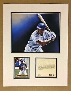 New York Mets Bobby Bonilla 1994 Baseball 11x14 MATTED Kelly Russell Print