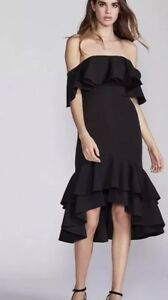 6e7e76b9832 Details about NEW $249 Free People X Fame And Partners Sasha Dress Size 8  Little Black Party