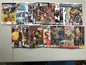 Lot-of-24-Wolverine-and-the-X-Men-2011-from-2-37-Annual-1-NM-Near-Mint