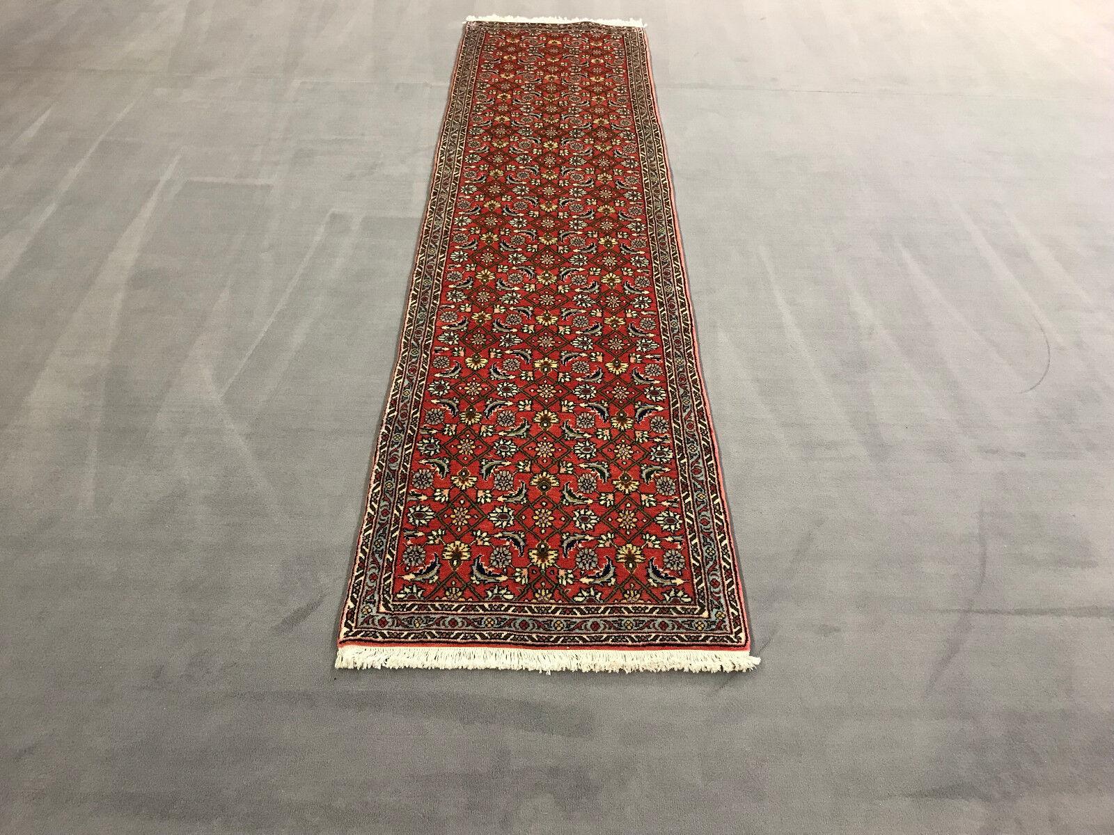 Senneh Orient alfombra persa alfombra 2,86x0,72 m  exclusiva de arte del suelo  nuevo