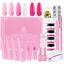 Makartt-Pink-Poly-Nail-Gel-Kit-Nail-Extension-Gel-Builder-Gel-Kit-Nail-Enhancem thumbnail 1