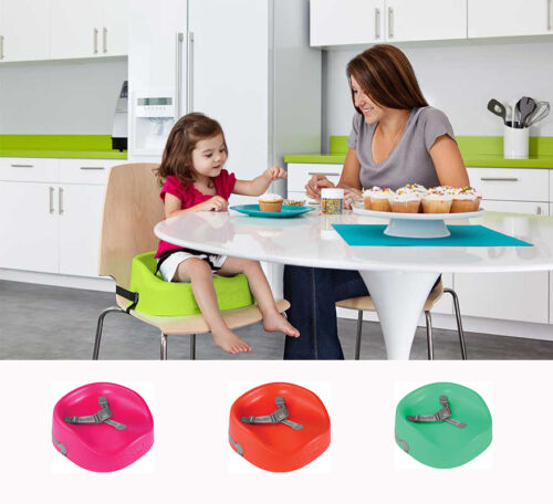Bumbo Baby Booster Seat High Chair Feeding High Chair Multicolor With Harness