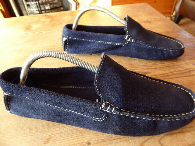 Mens bue suede ZARA loafers - size 40 great condition