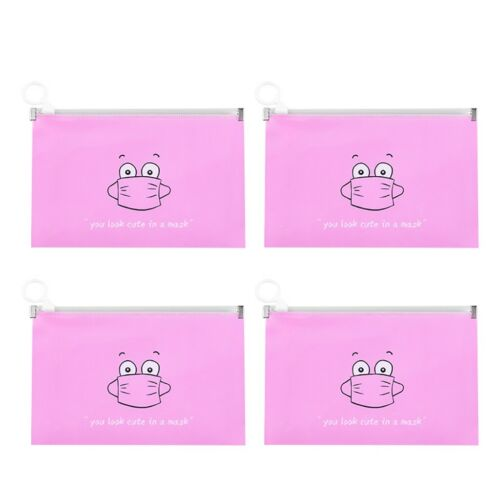 Waterproof Portable Face Masks Organizer Foldable Cleaning Bags Outdoor Bag
