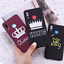 thumbnail 1 - King and Queen Crown case cover for Xiaomi Mi Redmi Note 5 6 7 8 9 lite Pro Plus