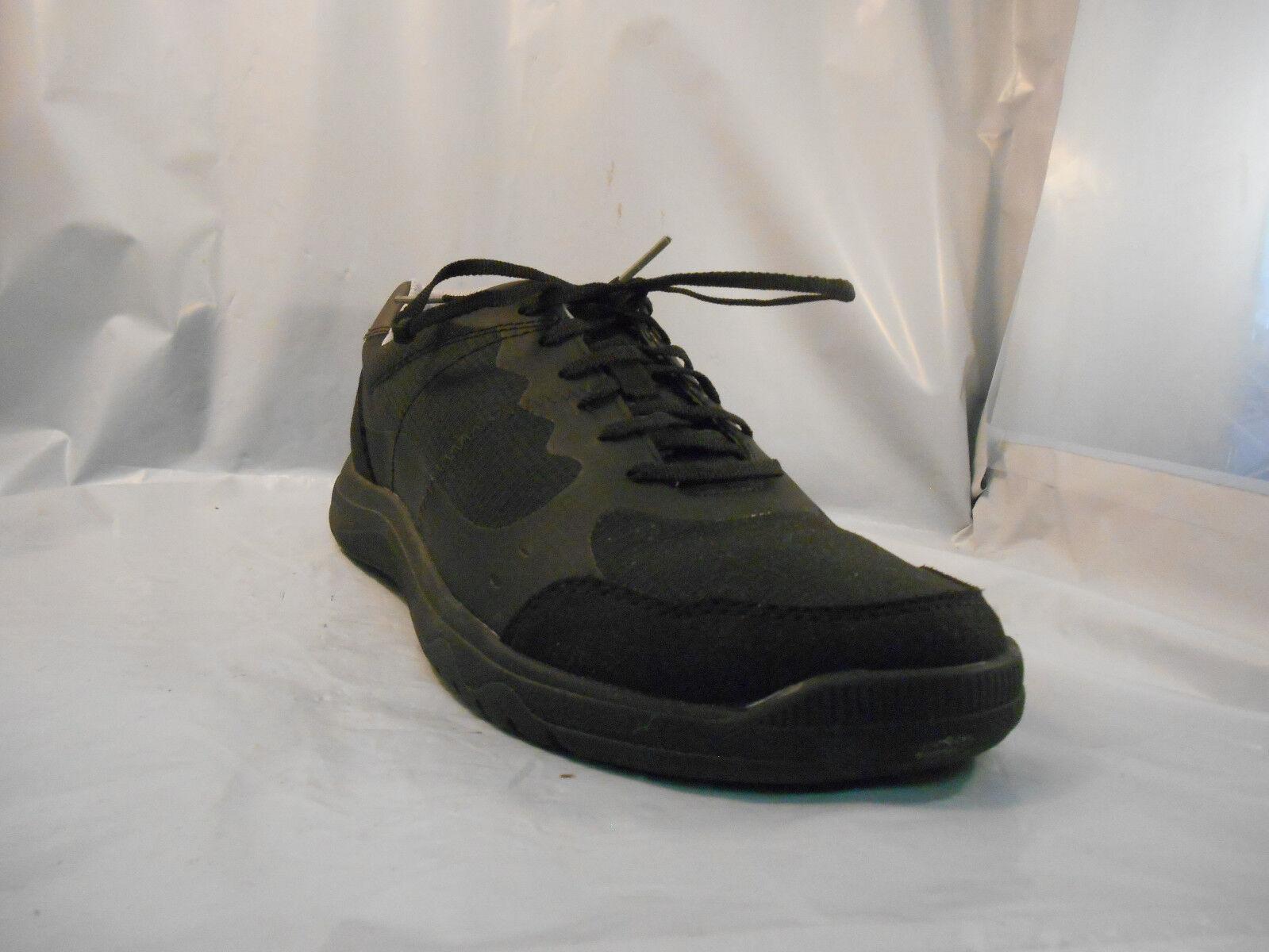 Clarks Cloud Steppers Votta Edge Black Sneakers Athletic shoes Men's Size 9 M
