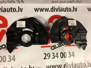 BMW-E46-FRONT-DISC-BRAKE-PROTECTION-BACK-PLATES-LEFT-and-RIGHT-NEW