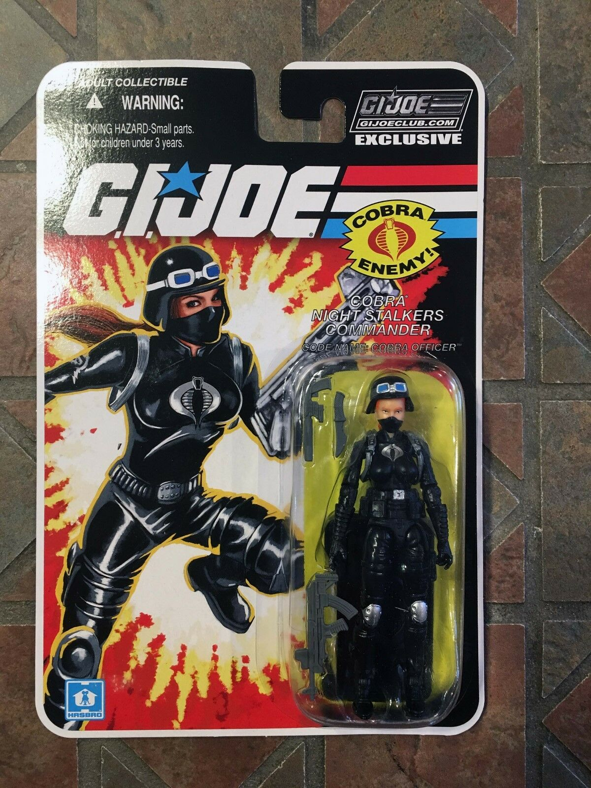 Gi Joe Fss Nightstalker Kommander Offizier 6.0 2017 Collectors Club Figur Cobra
