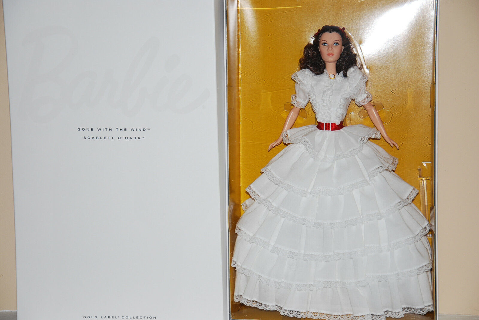 SCARLETT O`HARA BARBIE DOLL, GONE WITH THE WIND COLLECTION, 2014, NRFB, BDH19