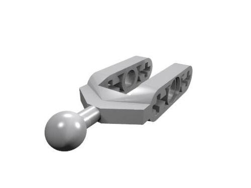 4 x neu 6572 hell-blaugrau LEGO Technik Achsschenkelträger