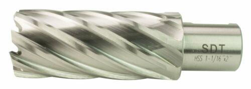 """Steel Dragon Tools® 1-1//16/"""" x 2/"""" HSS Annular Cutter 3//4 Weldon Shank"""