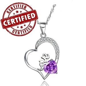 Heart-Shaped-Purple-Amethyst-Sterling-Silver-Pendant-with-Sterling-Chain