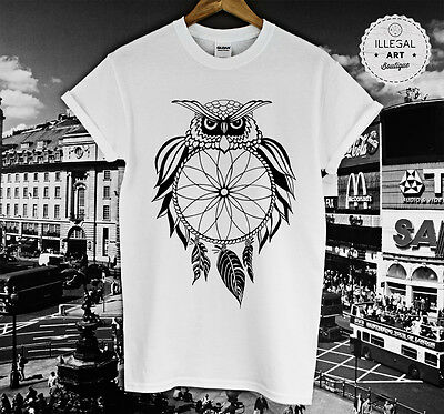 DREAM CATCHER OWL T SHIRT HYPE RATCHET SWIFTIE OVO FELINE COCO CLOTHING TOP NEW