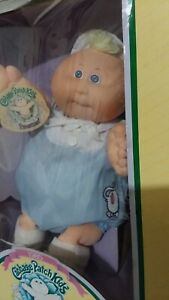Vtg1985-cabbage-patch-kids-boy-preemie-blonde-march-of-dimes-sept-1-coleco-NEW