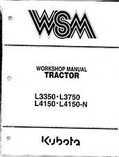 kubota l3350 l3750 l4150 tractor operator manual ebayitem 1 kubota l3350 l3750 l4150 l4150 n tractor workshop service manual 97897 10722 kubota l3350 l3750 l4150 l4150 n tractor workshop service manual 97897
