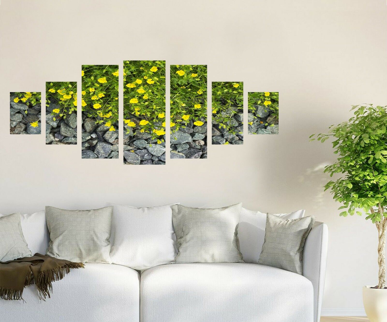 3D Flowers Spring 564 Unframed Drucken Wand Papier Decal Wand Deco Innen AJ Wand