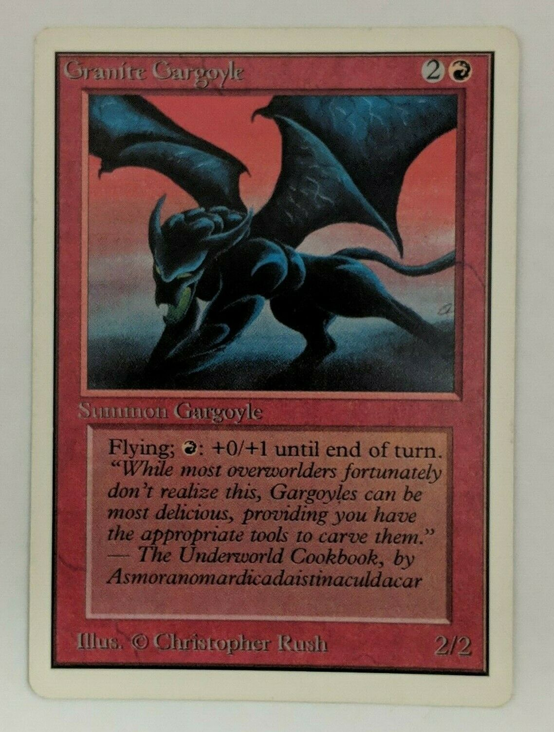 MTG MTG MTG Unlimited Granite Gargoyle Near Mint Mint 792521
