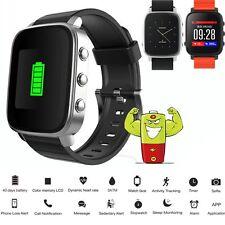 30M Waterproof Swimming Bluetooth SmartWatch Heart Rate Monitor Activity Tracker
